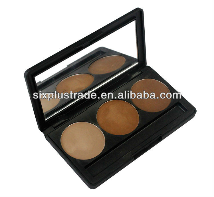 oem 3 color eyeshadows/instant eye shadow palette