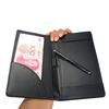 PU Leather Restaurant Bill Holder, Waiter Wallet, Check Book Cashier Magnetic Clip Folder