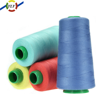 Alibaba china 40/2 core cheap 100% spun polyester sewing thread 5000m
