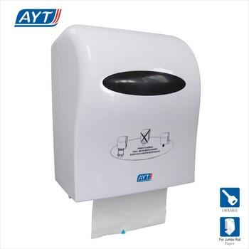c48de930864 Hand pull auto cut paper dispenser automatic paper towel dispenser ABS paper  dispenser