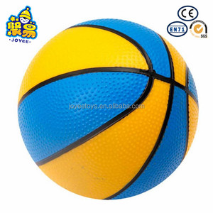 Sport toy inflatable PVC beach basketball for physical exercise