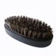 custom design wholesale boar bristle hair head massage wooden beard brush