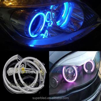 131mm+146mm Ccfl Led Car Angel Eye Light Headlight Halo Ring Semi ...