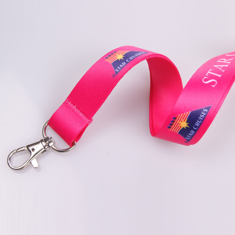 Sublimation top quality eco-friendly international flag unique logo lanyard for sale