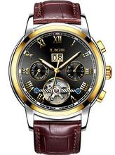 2020 LIGE автоматические часы мужские Скелет турбийон механические часы спортивные водонепроницаемые автоматические часы мужские часы Relogio ...(Китай)