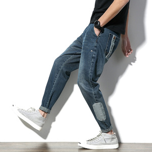 High Quality Last Design Exportable Blend Denim Slim Jeans Pants
