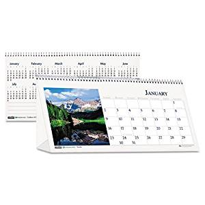 HOD3649 - House of Doolittle Scenes Desktop Tent Calendar