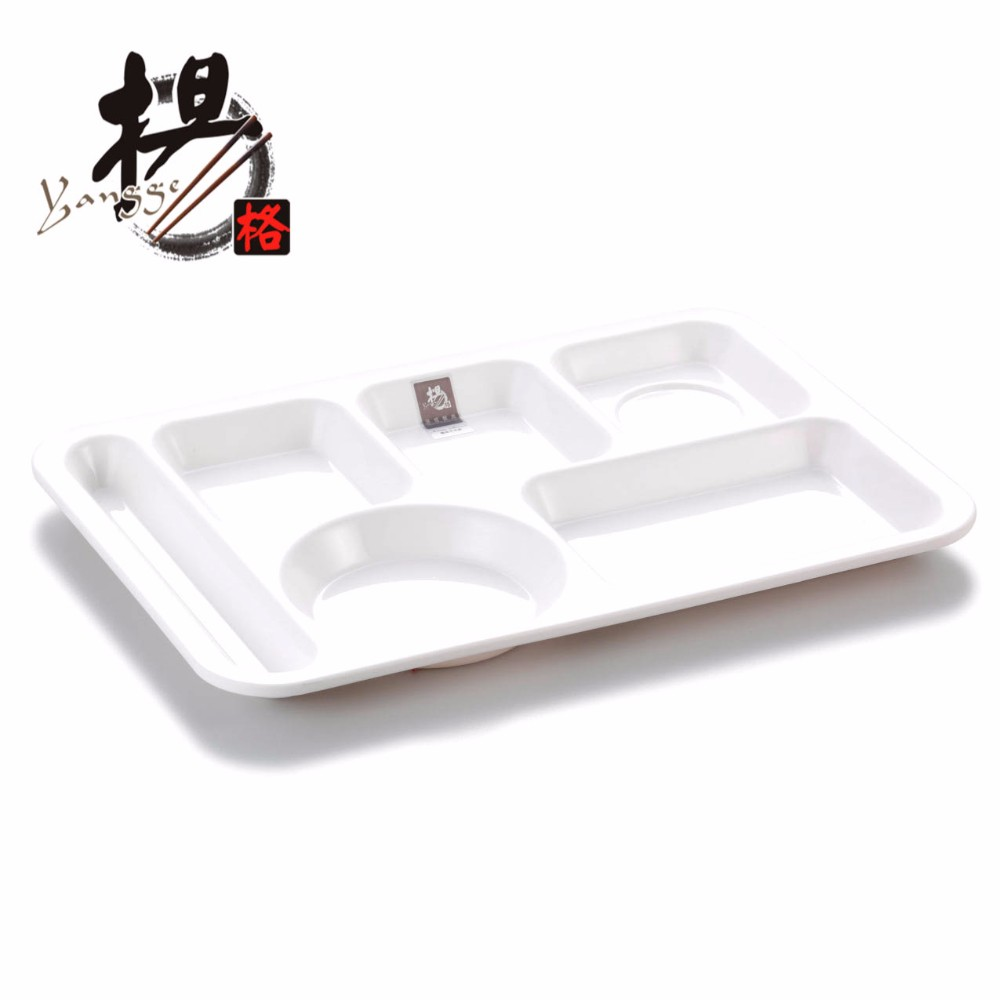 2018 Hot Ing Plastic Melamine Food Trays With Compartments