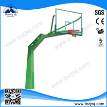 China manufacturer portable fiberglass basketball pole