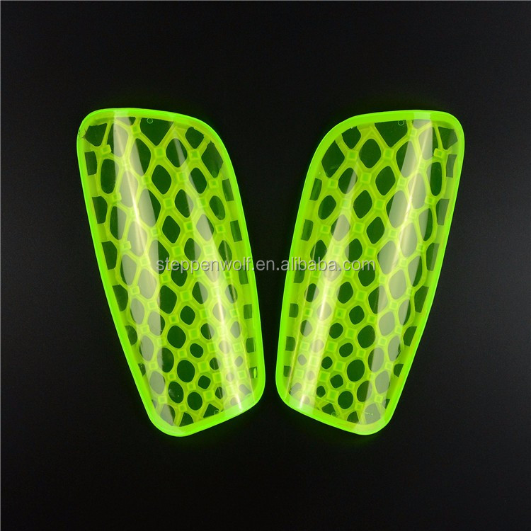 HYL-HTB002 Custom plastic football carbon fibre sublimation knee kids shin guard soccer compression hockey shin instep guard