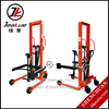 High Quality and Low Price Capacity 350kg Manual Hydraulic Tilting-type Oil Drum Pallet Truck