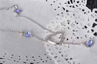 B060022N-China Wholesale Fashion Jewelry Necklace with Stone