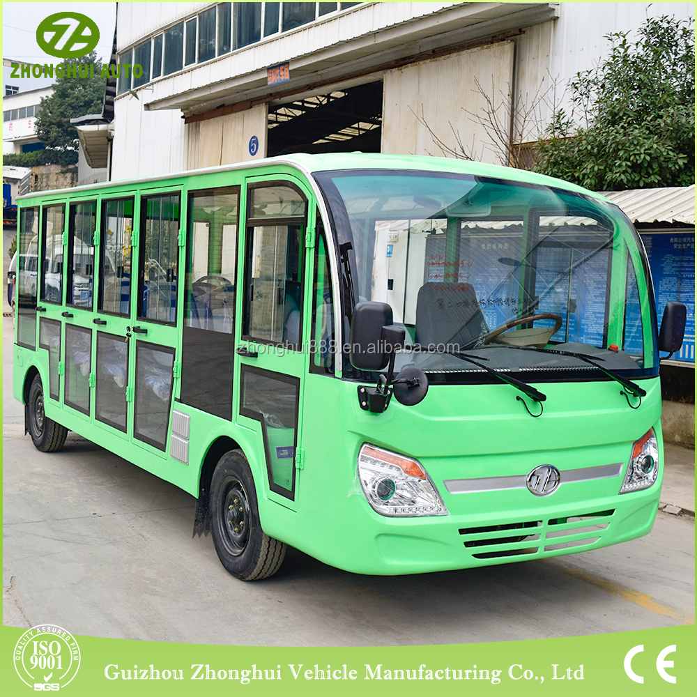 famous brand new luxury passenger bus with 18 seater