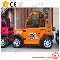 Four-wheel electric vehicle battery/electric utility vehicle