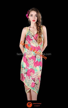 60029a8892791 Womens-wrap-dress-pareo-sarong-beach-floral-swimwear-cover-up ...