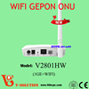 Wireless ethernet passive optical network fiber to the home terminal WIFI ONU