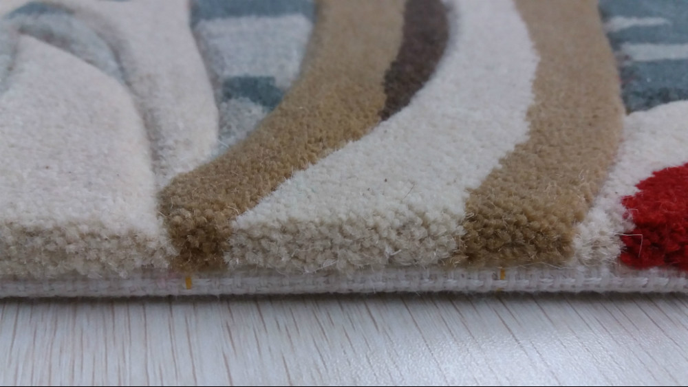 Hand Tufted Carpets And Rugs Wool Carpet For Hotel ,Home