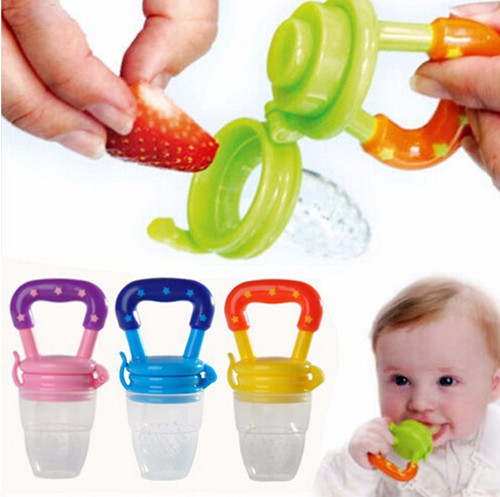 New 2015 High Quality Baby Pacifier Clip Feeding Dummies Soother Nipples Soft Feeding Tool Silicon Bite Gags Boys & Girls