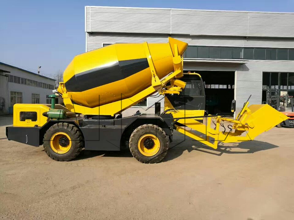 3.5m3 hydraulic mixer machine small self loding cement mixer china