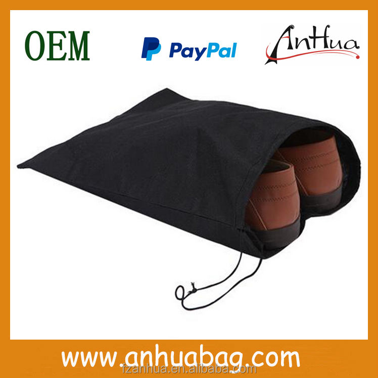 Fashion Cheap Dust Non Woven Drawstring Shoe Bag