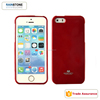 For iPhone 5S jelly soft TPU case, wholesale mobile phone cover for iPhone 5