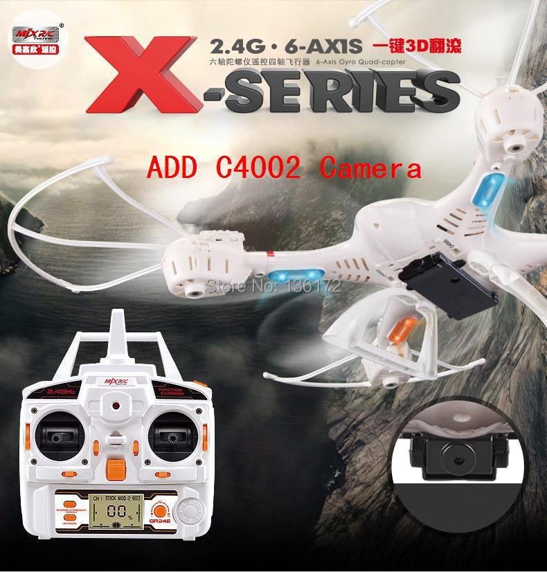 TOP Quality !! MJX X400 100% Original 2.4G 4CH 6-Axis Remote Control RC