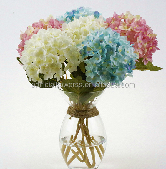 cm dimetro barato al por mayor artificial hydrangea flor de varios colores