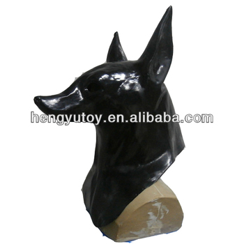 creepy myth full head halloween mask for anubis