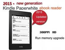 Kindle Paperwhite 3  WiFi 6 inch 4GB 300 ppi 2015  ebook reader Brand New e-reader Electronic Books reader kindle free shipping