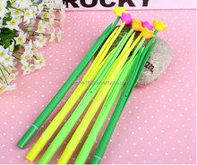Beatiful Flower Type Silicone Ballpoint Pens for Promotional Gift