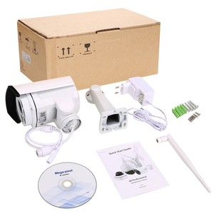 Intelligent Network IP Camera 960P Outdoor Surveillance CCTV Camera for 4 Users Simultaneously Browse with 128GB TF Card