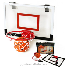 Hot sale PVC blackboard indoor Mini basketball hoop set for kids