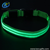 Durable Nylon Wholesale Reflective Rechargeable Dog LED Collar