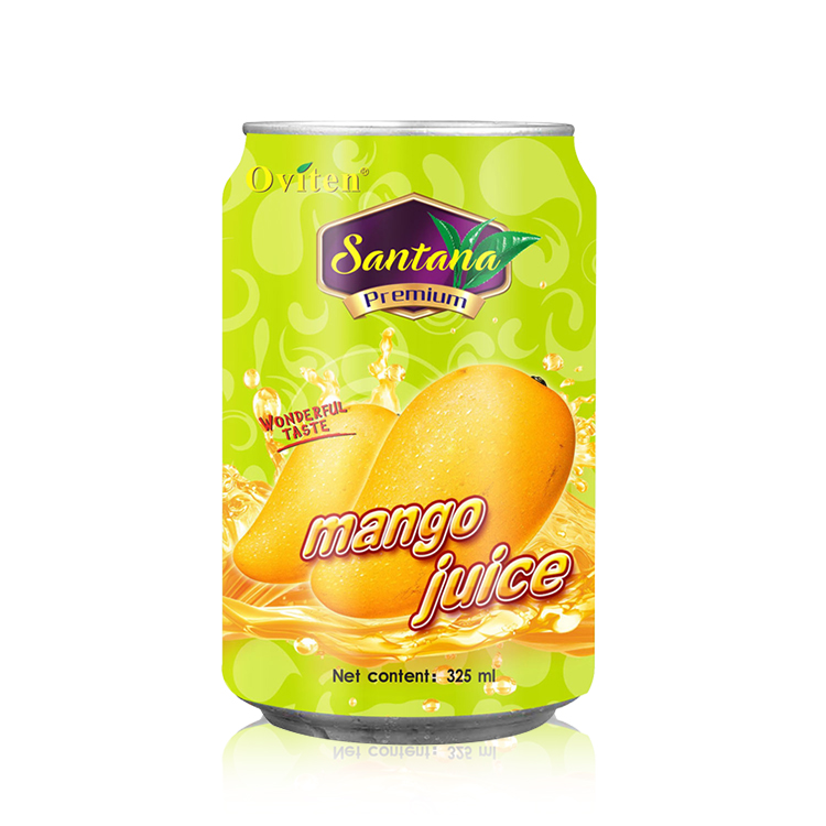 325ml Excellent canned natural aseptic product type mango <strong>fruit</strong> juice drink
