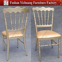 Stackable three support bracing brand names leather napoleon chairs YC-A32-12