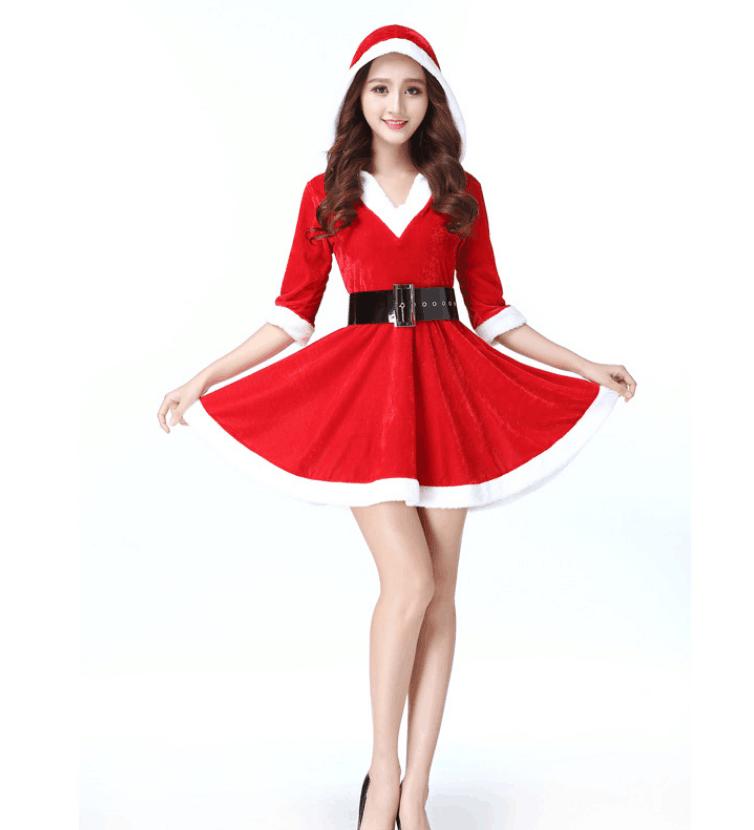 Christmas Dresses Womens.Sexy Fashion Adult Women S Christmas Wear Waist Belt Set Manufacturer Sales Buy Adult Deluxe Christmas Suit Christmas Dress For Women Product On