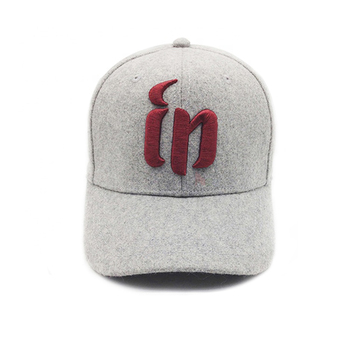 Vogue 3D Wings Embroidery Wool Hip-Hop Sublimation Hat Custom Patch 3d  Embroidery Baseball Cap a340fd6563b5