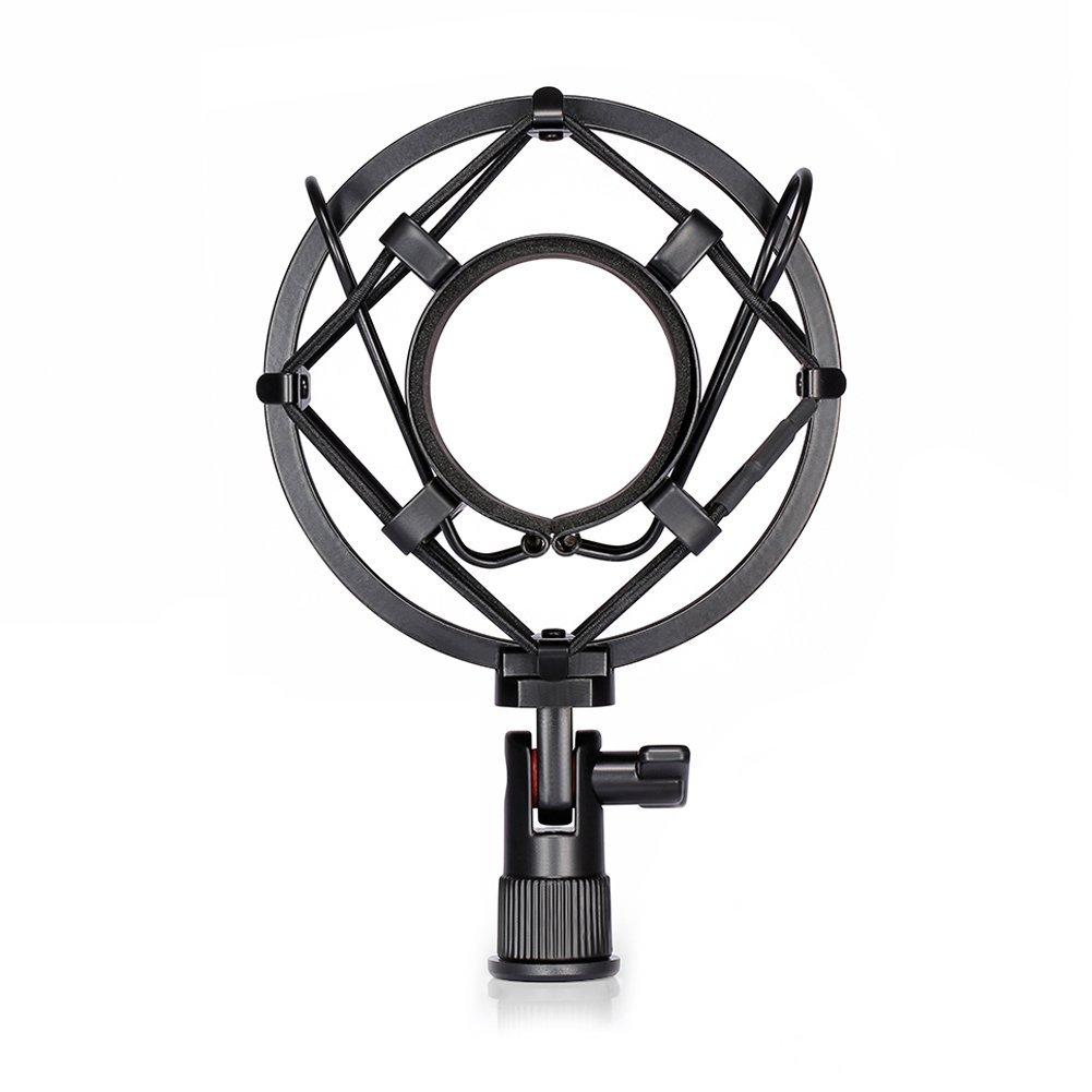Soporte de micrófono ajustable de 180 grados