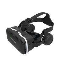 Free Sample Dropshipping Blue Film Hot Video Google Virtual Reality VR Headset with Headphone