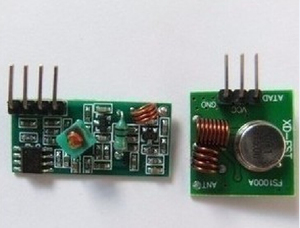 315M super regenerative module, wireless transmitting module alarm transmitter and receiver