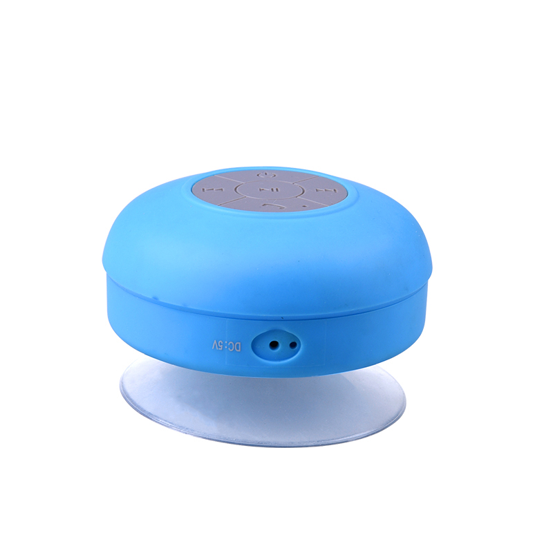 Multifunctional full colors DC 5V Mini Shower water proof bluetooth speaker
