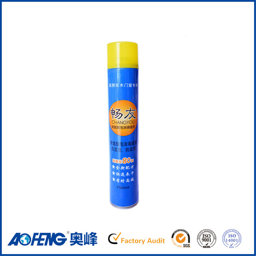 Eco-friendly Factory Direct Supply High Expansion Rate Msds Polyurethane Adhesive Foam Decoration