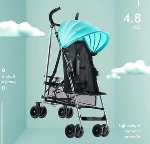 KUB 508 lightweight Baby stroller portable foldable pushchair pram baby product big storage