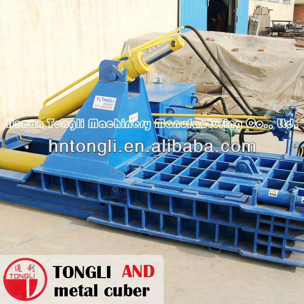 Tongli series excellent quality and finely processed hydraulic metal scrap baler