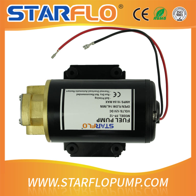 SATRFLO FP-12 12v dc electric positive displacement hot oil circulation pump