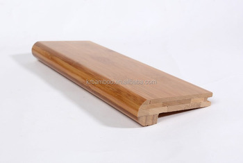 High Quality Bamboo Laminate Floor Stair Nosing