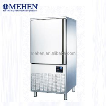 Ce Disetujui Peralatan Dapur Besar Kapasitas Industri Ledakan Freezer