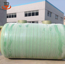 Easy operation water biogas plant septic tank for army