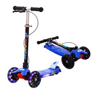 Best Quality PP Kids Scooter/Cheap Price Three Wheel Children Scooter/Baby Kids Toy Kick Scooter with Brake