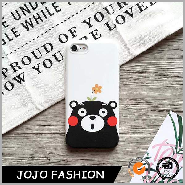 Soft material high quality mobile phone case bear cute cell phone cover
